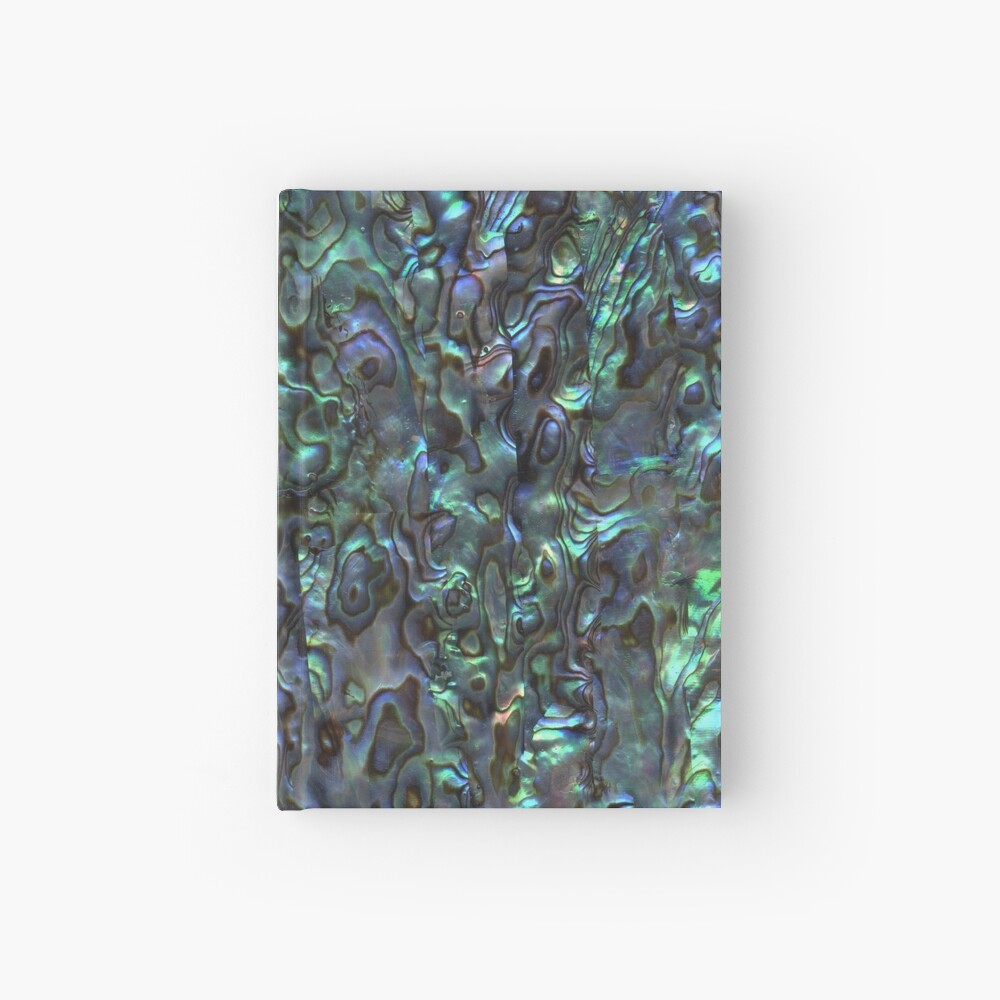 Abalone Shell | Paua Shell | Seashell Patterns | Sea Shells | Natural |  Hardcover Journal
