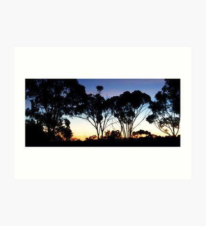 gatherdowns Sunset Art Print