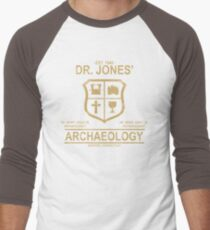 Dr. Jones' Archaeology Men's Baseball ¾ T-Shirt