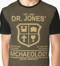 Dr. Jones' Archaeology Graphic T-Shirt