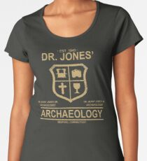 Dr. Jones' Archaeology Women's Premium T-Shirt