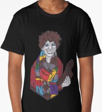 The 4th Doctor - Tom Baker - Doctor Who Long T-Shirt