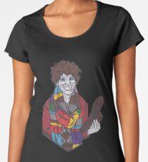 The 4th Doctor - Tom Baker - Doctor Who Women's Premium T-Shirt