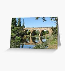 Richmond Bridge, Richmond Tasmania, Australia. Greeting Card