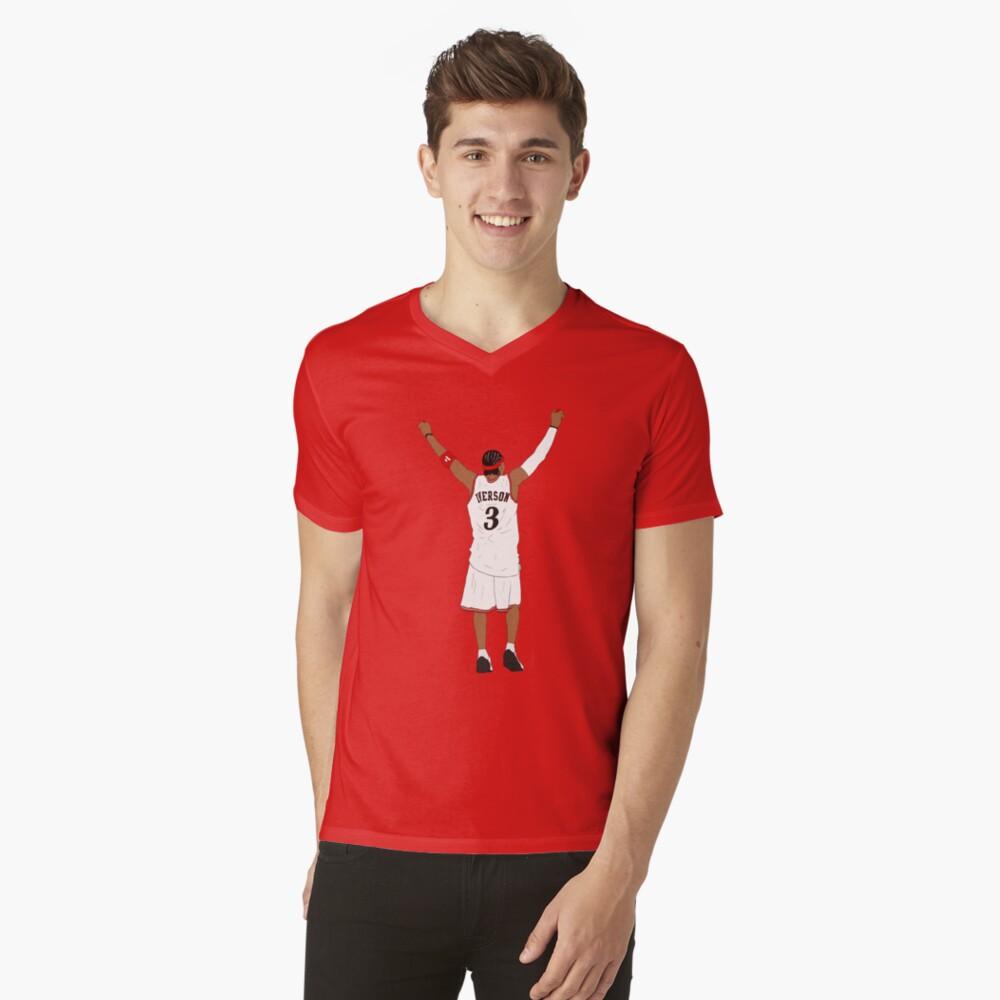 Allen Iverson Back-To V-Neck T-Shirt