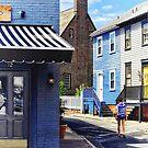 Strolling Along Pinkney Street by Susan Savad