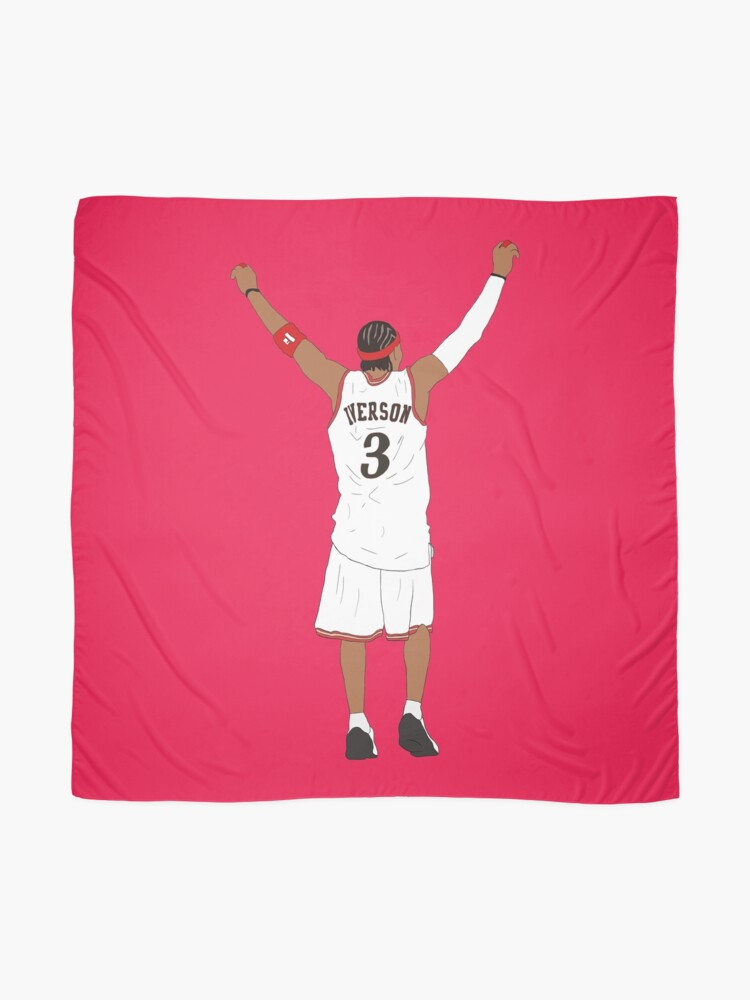 Alternate view of Allen Iverson Back-To Scarf