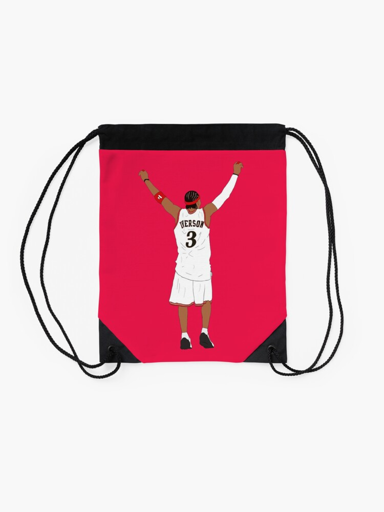 Alternate view of Allen Iverson Back-To Drawstring Bag