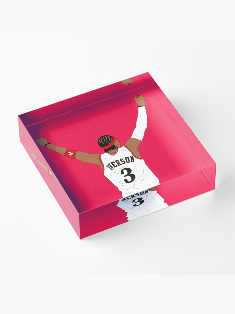 Alternate view of Allen Iverson Back-To Acrylic Block