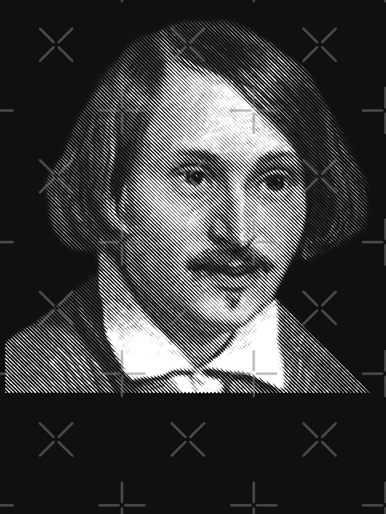Gogol, portrait by kislev