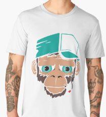 Smoking Monkey - Cartoon Men's Premium T-Shirt