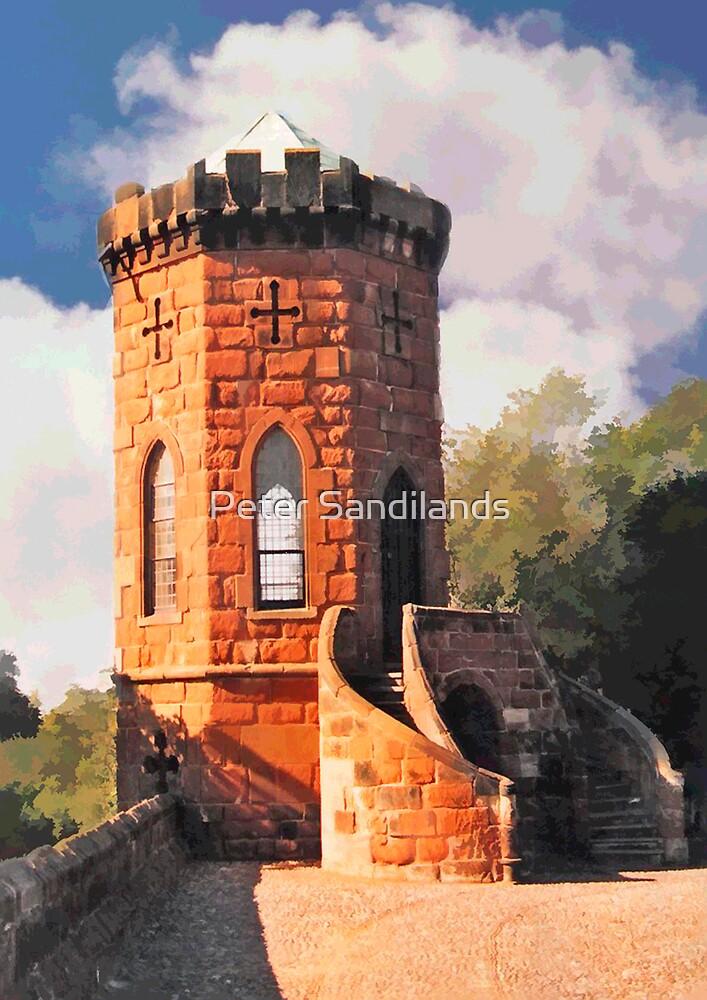 Laura's Tower, Shrewsbury by Peter Sandilands