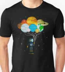 Planet Balloons - Space Party Unisex T-Shirt