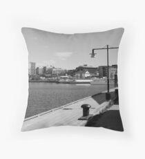 Lulea, the city by the sea Throw Pillow
