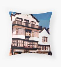 Mol's Coffee House, Exeter  Throw Pillow