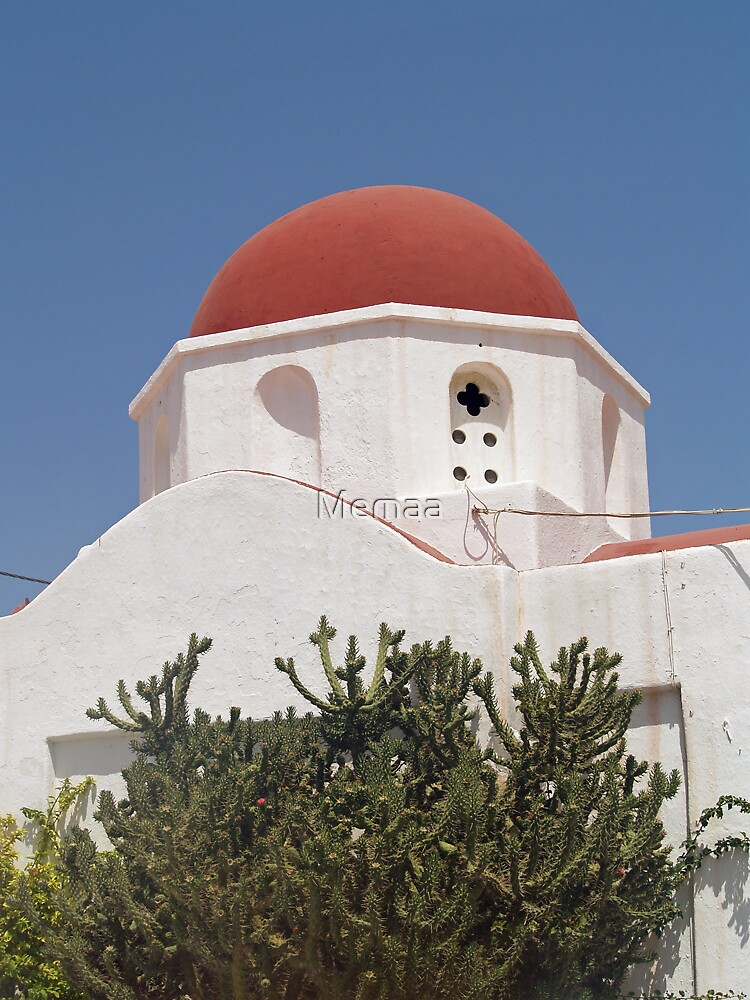 Red Domed Church by Memaa