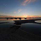 Labrador Broadwater Sunrise. Gold Coast, Qld, Australia. by Ralph de Zilva