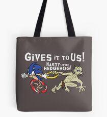 Nasty Hedgehog!!! Tote Bag