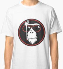 Smoking Monkey - Cool Classic T-Shirt
