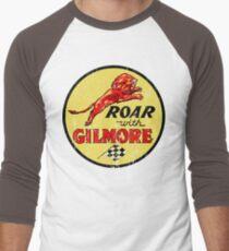 Roar with Gilmore classic gasoline Men's Baseball ¾ T-Shirt