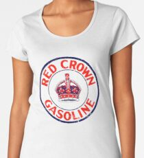Red Crown Gasoline Women's Premium T-Shirt