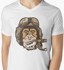 Smoking Monkey - Aviator T-Shirt