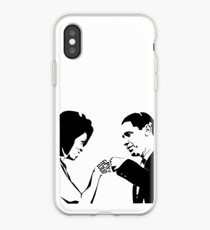 SAY IT LOUD: Obama Fist Bump iPhone Case