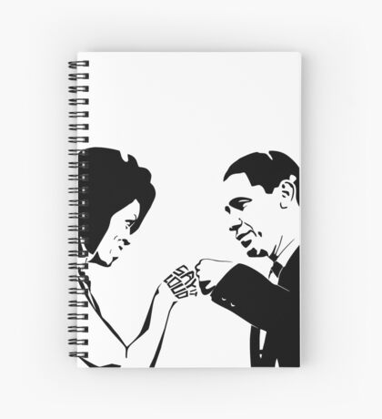 SAY IT LOUD: Obama Fist Bump Spiral Notebook