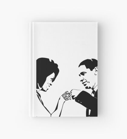 SAY IT LOUD: Obama Fist Bump Hardcover Journal