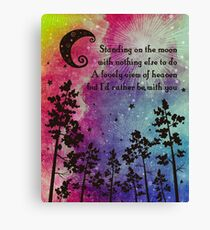 c6ab0aa0a0c9 Grateful Dead - Standing on the Moon Canvas Print