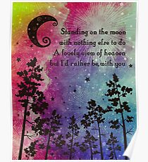 Grateful Dead - Standing on the Moon Poster