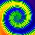 Rainbowdrop by Malcolm Kirk