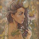 Passiflora by Fay Helfer