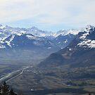 Alpine Panorama by BigAl1