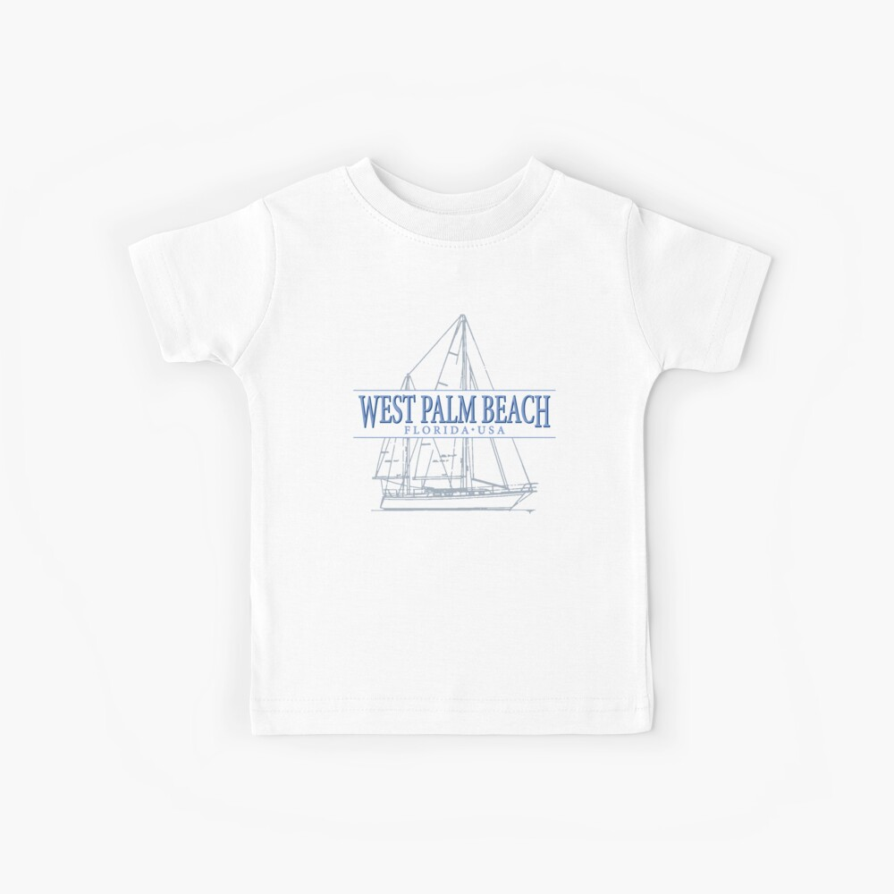 West Palm Beach Florida Kids T-Shirt