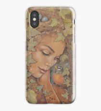 Ivy + Robin iPhone Case