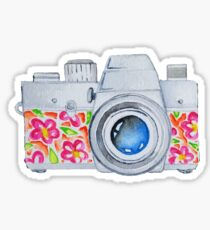 Summer Camera Sticker