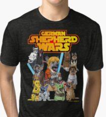 German Shepherd Wars Tri-blend T-Shirt