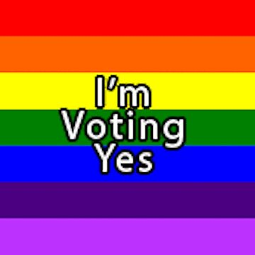 Rainbow Flag Vote Yes by ToppaForTheLols