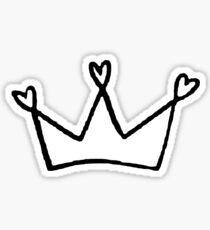 Heart Crown <3  Sticker