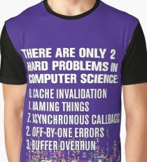 Only 2 Hard Problems in Computer Science: version 2.0.0-rc-937.04-hot-patch Graphic T-Shirt