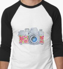 Summer Camera Men's Baseball ¾ T-Shirt