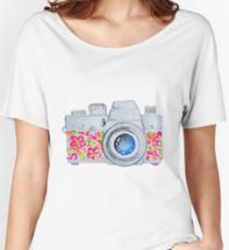 Summer Camera Women's Relaxed Fit T-Shirt