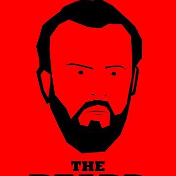 John Brayford - Fear The Beard by matthindle