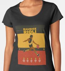 Maurice Rioli - Richmond Women's Premium T-Shirt