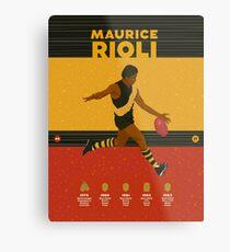 Maurice Rioli - Richmond Metal Print