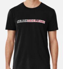 Schwarze Exzellenz Premium T-Shirt