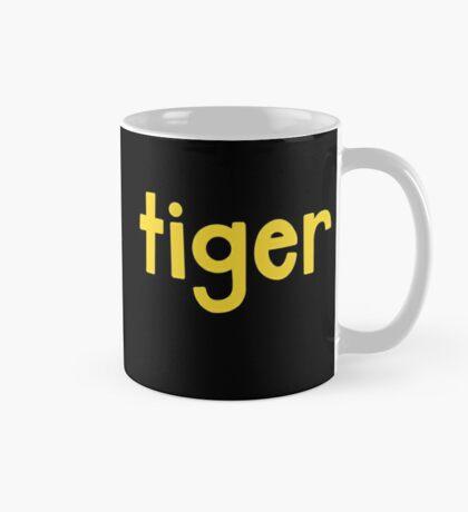 Tiger Black Mug