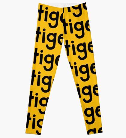 Tiger Yellow Leggings