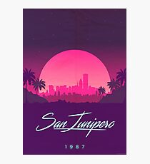"Black Mirror- ""San Junipero 1987 "" Art Photographic Print"